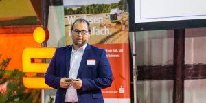 Moderation der Podiumsdiskussion zum 10. Agrarkonvent des Ostdeutschen Sparkassenverbandes