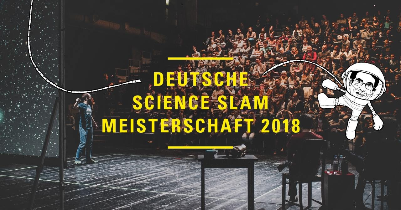 Vizemeister! Deutsche Science Slam Meisterschaft 2018