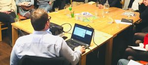 Argumentationsworkshop zur Europawahl bei den Grünen in Leipzig