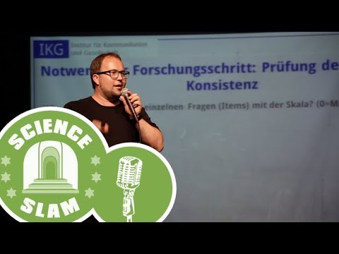 "Science Slam ""Zur Operationalisierung rhetorischer Kompetenzen"""