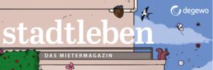 """Read more about the article """"Die neue Anständigkeit"""" – Interview mit Mietermagazin """"stadtleben"""""""