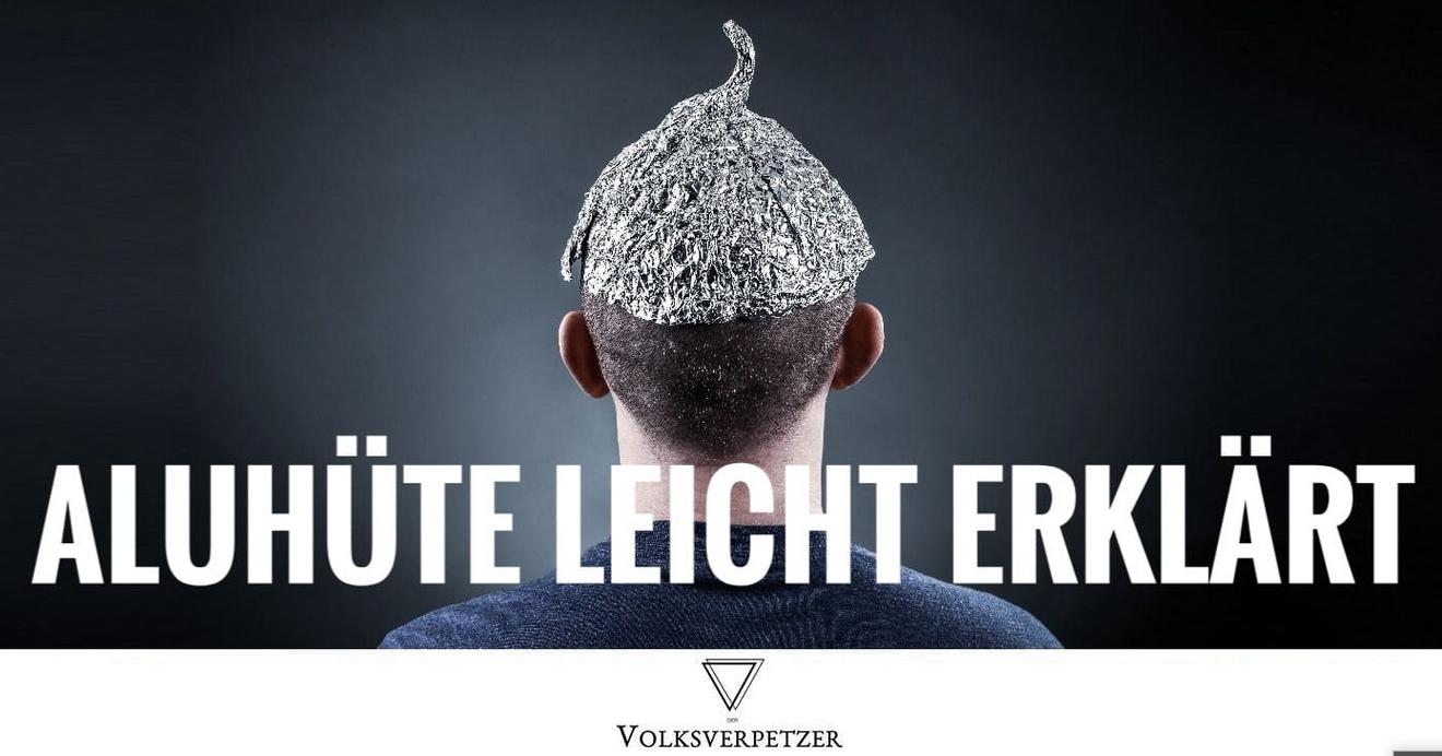 """Read more about the article Aluhüte leicht erklärt – Artikel auf """"Volksverpetzer"""""""